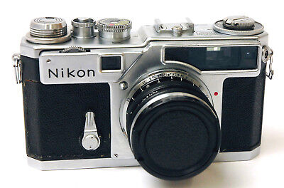 Nikon SP Rangefinder Camera w/ 5cm (50mm) f/1.4 Lens Excellent Condition Vintage
