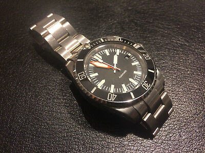 Automatic Diver Watch, Stainless Steel, 42mm, Ceramic Bezel