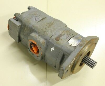 Commercial Intertech 326-9121-007 tandem hydraulic pump