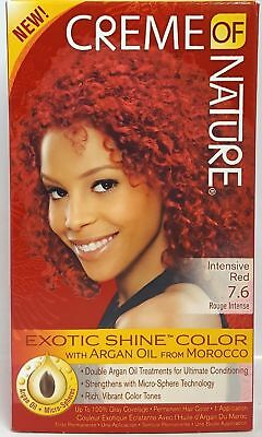 Creme Of Nature Exotic Shine Permanent Hair Colour/Dye With Argan Oil **UK**