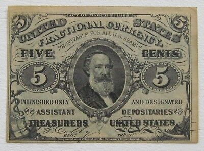 5 Cent March 3rd 1863 Spencer M Clark