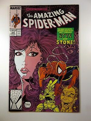 "The Amazing Spiderman #309 ""Styx and Stone"" Cool Villains!! VF-NM Condition!!"