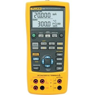 Fluke 726 Precision Multifunction Process Calibrator, 0.01 % Rdg + 2 LSD