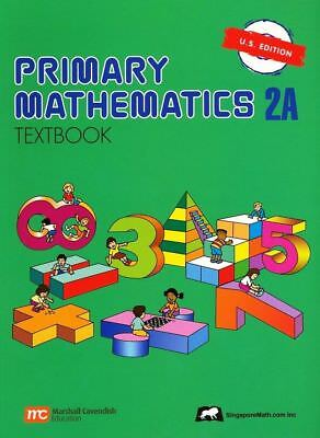 Primary Mathematics Textbook 2A US Edition by Singapore Math BRAND NEW
