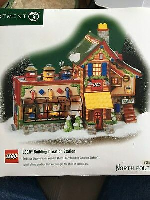 Department 56 LEGO Building Creation Station 56735 MIB