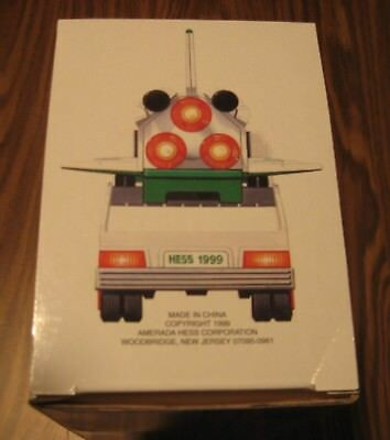 1999 Hess Toy Truck And Space Shuttle With Satellite, Nib Mint