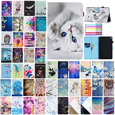 For Amazon Kindle Paperwhite 1/2/3 Painted Flip Leather Wallet Stand Case Cover