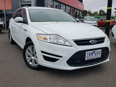 2013 Ford Mondeo MC LX White Automatic 6sp A Wagon