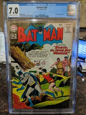 DC Comics Batman #150 CGC 7.0 Silver Age Comic