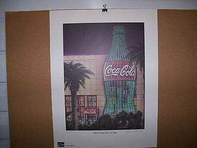 1998 Coca Cola Limited Edition Fine Art Print Signed Pamela C. Renfroe #750/750