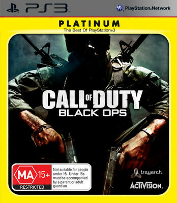 COD Call of Duty Black Ops PS3 Game USED
