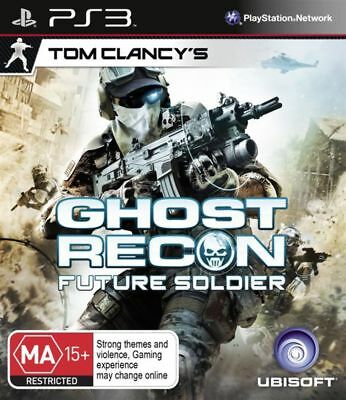 Tom Clancys Ghost Recon Future Soldier PS3 Game USED