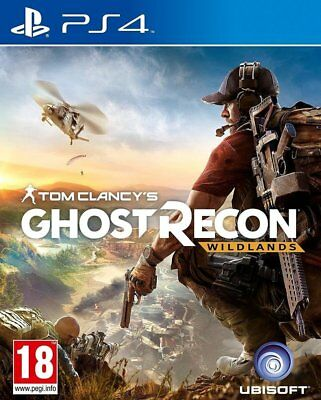 Tom Clancys Ghost Recon: Wildlands PS4 New & OVP Uncut Express Shipping