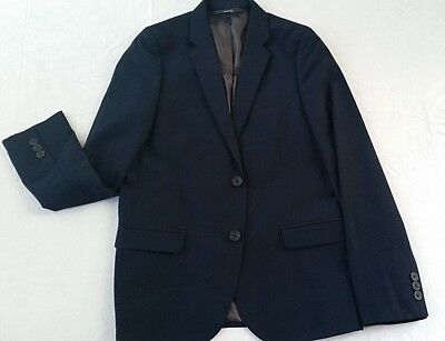 Boys Blazer Jacket Childrens Youth Brand New Dark Navy size 10 HIGH Quality NEW