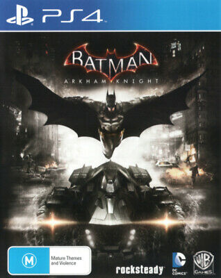 Batman Arkham Knight PS4 Game USED