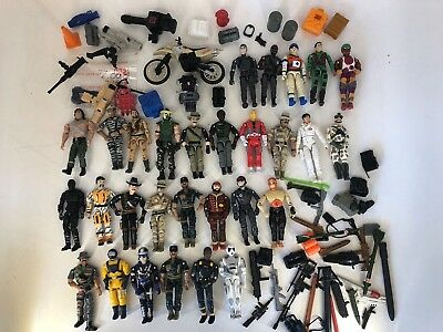 Lanard - The Corps - Large lot Action Figures & Accessories GI Joe - 80s & 90s