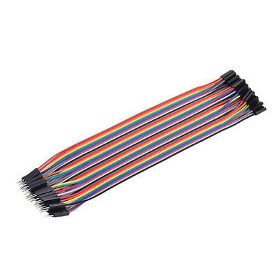 High Quality Male to Female Dupont Wire Cable for Arduino Breadboard 40Pcs 20cm