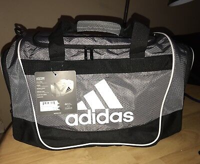 Adidas Defender II Small Duffel Small 20.5x11.75/'/'x11   NWT retail $36