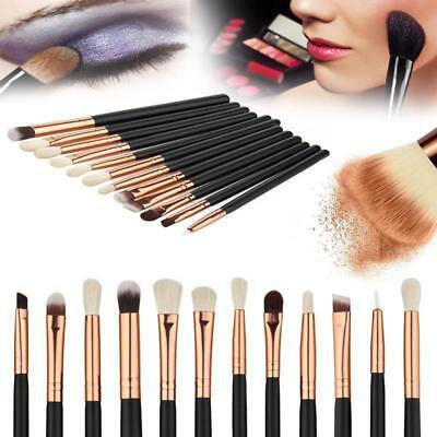 Professional 12pcs Kabuki Make up Brush Set Foundation Blusher Eyeshadow Tools