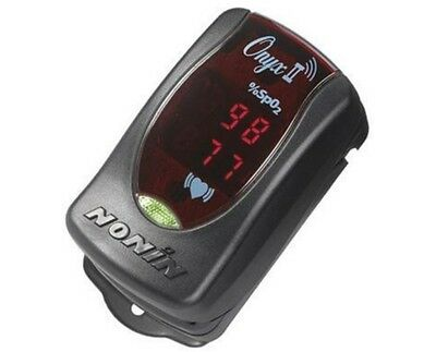 Nonin Onyx II 9560 Bluetooth Oximeter - NEW! - Retail $300 - Case & Lanyard