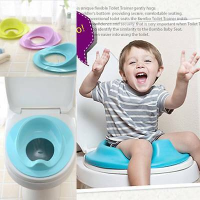 US Kids Baby Toilet Seat Potty Bedpan Cover Bathroom Training Seat Pad Cushion