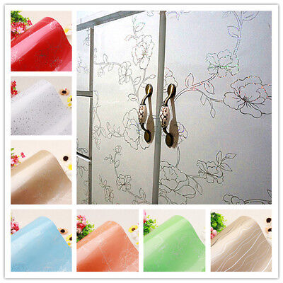 Vinyl Floral Contact Paper Self Adhesive Wallpaper Roll Kitchen Cabinet Decor