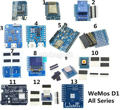 WeMos D1 Mini ESP8266 ESP 12F DHT22 AM2320  CH340 CP2104 Wifi Module For NodeMCU