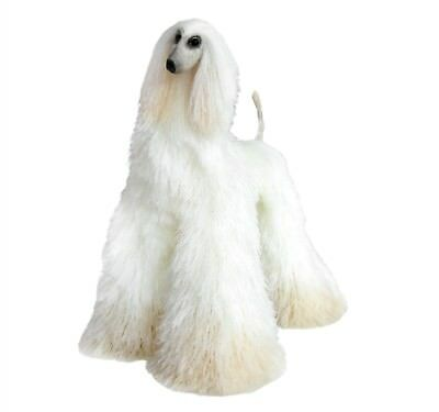 Collectibles Animals Light Cream Afghan Hound Cute Plush Toy Stuffed Animals