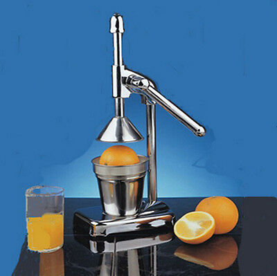 Hot Orange Hand Press Commercial Manual Citrus Fruit Lemon Juicer Juice Squeezer