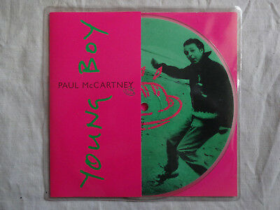 """unplayed 7"""" picture disc - PAUL McCARTNEY - Young Boy (+ insert) 1997"""