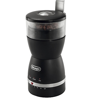 DeLonghi KG49 Electric Coffee Grinder 90 g of coffee beans Capacity 170W Black