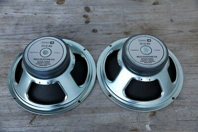 2 Stück CELESTION G12-65 Heritage Rola Made in England 2010/2011
