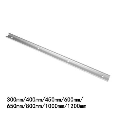 300~1200mm T-tracks Aluminum Slot Track Miter Jig Fixture Router For Table Fence