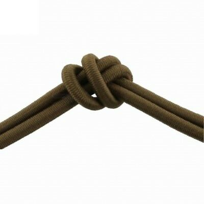 Milspec Elastic Shock Cord Bungee Cord 498 Coyote Brown Per Metre Made In Usa
