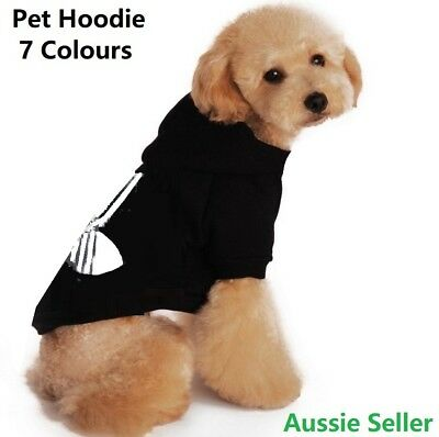 Cat Dog Hoodie Warm Winter Clothes  Jumper