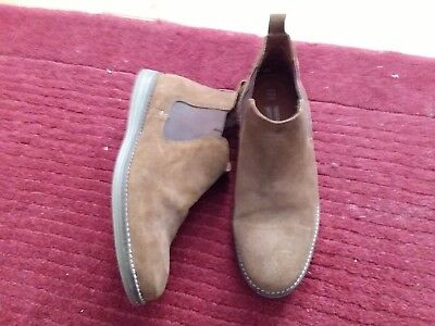 Red Tape Mens Tan Suede Chelsea Boot - Size ,8,