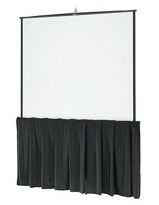 """Details about  60"""" Tall x 180"""" wide Skirt for Projection Screen"""