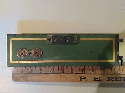 WHOLESALE PRICING! Antique safe deposit box with key 10X3