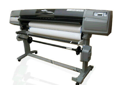 HP DesignJet 5500ps 60 inch UV Large Format printer with stand and take up reel
