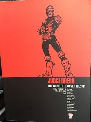 Judge Dredd: Complete Case Files - 01 (paperback) Good Condition Graphic Novel