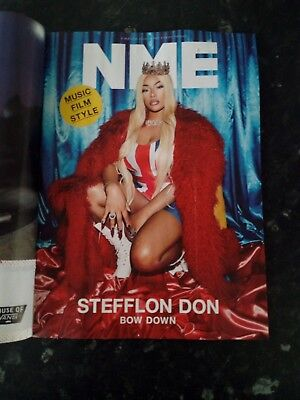 NME MAGAZINE COLLECTORS FINAL PRINT ISSUE LAST EDITION 9th MARCH STEFFLON VANS