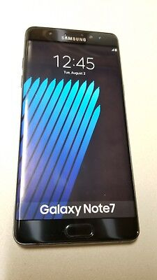 Samsung Galaxy Note 7 Dummy Phone - Display Phone - Not an Actual Phone