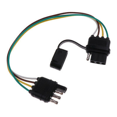 High Quality 38mm Trailer Wiring Harness 4Pin 18AWG Flat Wire Connector