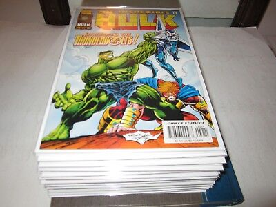 The Incredible Hulk, #'s 449-474, Complete Full Run, 1st Thunderbolts, Hot!!