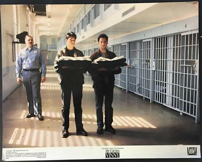 Mitchell Whitfield Ralph Macchio in jail My Cousin Vinny 1992 lobby card 1764