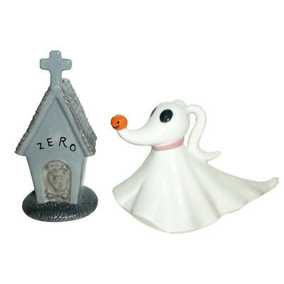 The Nightmare Before Christmas Zero & Doghouse Ceramic Salt & Pepper Shakers