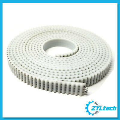 6mm Steel-Reinforced GT2 T2 Timing Belt- 6m continuous length