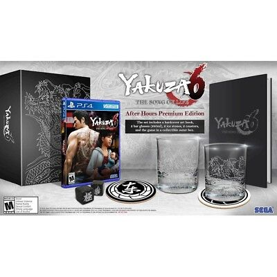 """Yakuza 6: The Song Of Life """"After Hours Premium Edition"""" (Playstation 4) Ps4"""