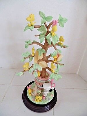 The Danbury Mint Peanuts THE SNOOPY EASTER TREE CHARLIE BROWN.NEW