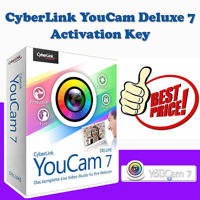 CyberLink YouCam Deluxe 7 Download for Windows 7, 8, 10 Video Camera Software